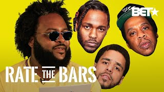 Dreamville's Bas Isn't Impressed By His Own Bars! + He Rates J. Cole, J.I.D & More! | Rate The Bars