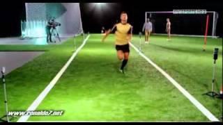 【C・ロナウド】サッカー選手のスピードの秘密【陸上選手との比較】
