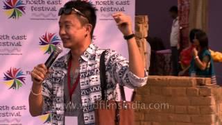 Nagas' favorite singer Alobo Naga live in New Delhi!