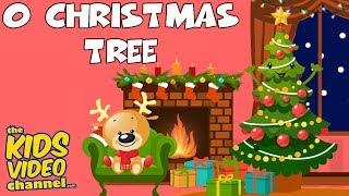 O CHRISTMAS TREE | Kids Christmas Songs | Kids Christmas Carols | THE KIDS VIDEO CHANNEL