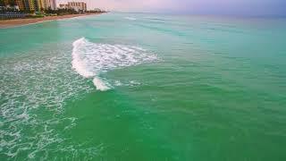 DJI Phantom 2 Pro ocean footage