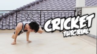 Bboy Tutorial I How to Cricket I Powermove Basic I