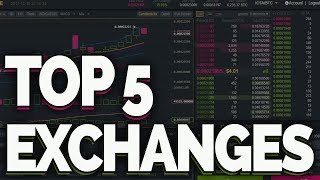My Top 5 Crypto Exchanges!