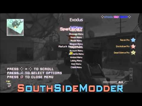 Mw3/1 24] Fusion Exodus SPRX Mod Menu Released!!! - смотреть