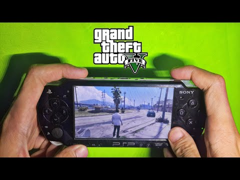 GTA V PSP Gameplay (HD)