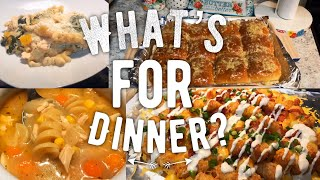 WHAT'S FOR DINNER | WEEKNIGHT DINNERS