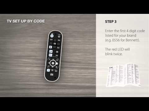 TV Setup by code
