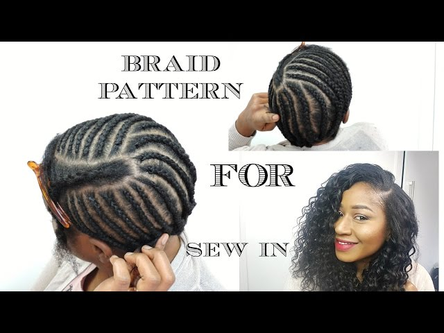 Braid Pattern For Natural Weaves Wigs 24 how to great braiding ...