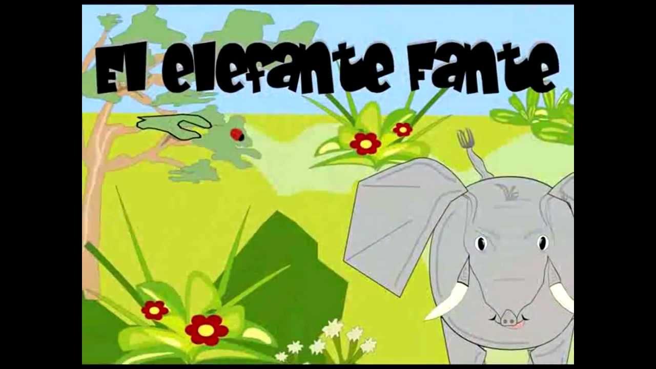 Elefante Fante y su trompa. Cuento Infantil.