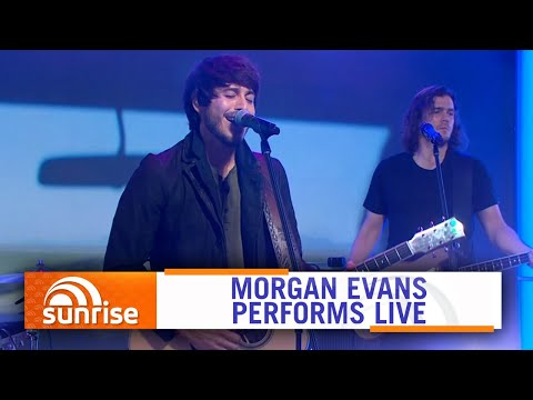 Morgan Evans performs 'Diamonds' live | Sunrise