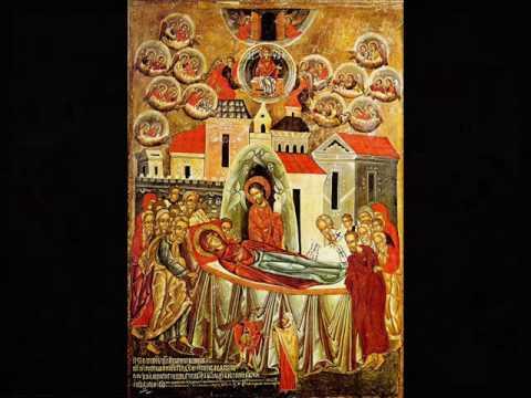 Cântări psaltice la Adormirea Maicii Domnului
