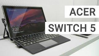 Acer Aspire Switch 5: Spannendes Tablet im Hands On   Deutsch