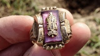 50 year old lost ring returned to original owner - Video Youtube