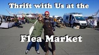 THRIFT WITH US For Home Decor At The Flea Market & BIG NEWS!!! | Tiny Acorn
