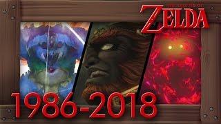 Evolution Of Ganon Deaths In Zelda Games [1986–2018]
