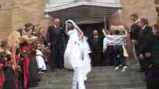 Bride & Groom Leaving The Church  Customized Video