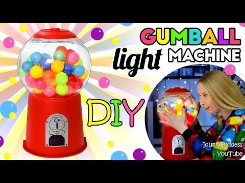 How To Make A Gumball Machine Light – DIY Gumball Machine Night Light Tutorial