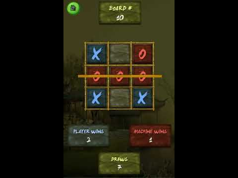Tic Tac Toe Ninja Unity3D Project with Admob + Android iOS