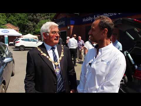 TGA Living: opening of the enhanced mobility product showroom in Farnham, Surrey YouTube video thumbnail