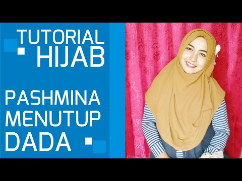 Video Tutorial Hijab Pashmina Simple Menutup Dada Terbaru 2017