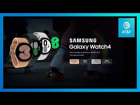 Samsung Galaxy Watch4   AT&T-youtubevideotext