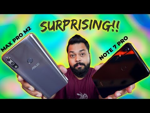 Redmi Note 7 Pro Vs Asus Zenfone Max Pro M2 ⚡ This Really SURPRISED Me!!