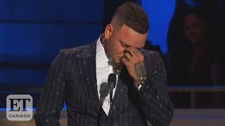 Kane Brown In Tears During Tribute To Drummer