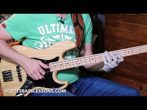 "Probably The Best Slap Bass Riff EVER! ""HAIR"" By Larry Graham /// Scott's Bass Lessons Mp3"