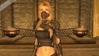 Skyrim SE 上古卷軸V:重製版 MOD 服裝 108.West Wind Combat Series - Assault Armor UNP身形