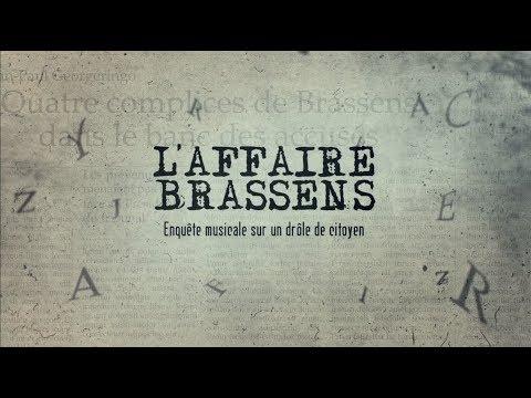 """Bande-annonce  """"L'Affaire Brassens au Cinema"""""""
