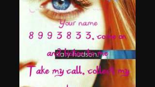 Last Call (With Lyrics Subtitles In Screen) Katy Perry - Katy Hudson High Quality Mp3