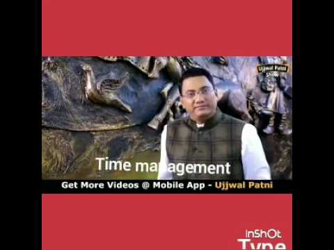 Video Best motivational video/ time management benefits. Sharma ni