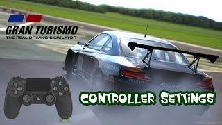 Gran Turismo SPORT Best Setup For Controller Settings