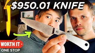 Eating A $132 Steak With A $950.01 Knife thumbnail