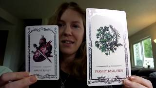 Tarot Of Shadows Classic and Special Edition comparison