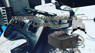 UNBOXING FPV GOGGLES | COBRA X | FPV UNTUK PEMULA