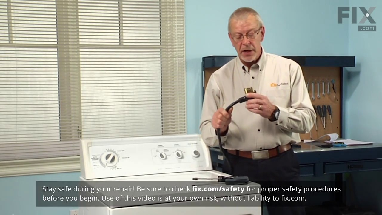 Replacing your Whirlpool Dryer Heating Element Connection Wire Kit