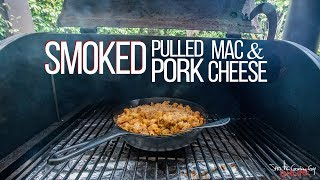 Smoked Pulled Pork Mac and Cheese | SAM THE COOKING GUY - Video Youtube