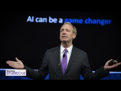 Microsoft President Brad Smith on 'Bloomberg Studio 1.0'