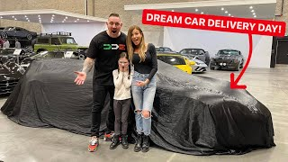 I BOUGHT MY $1,000,000 DREAM CAR!  *NEW CAR DELIVERY DAY*