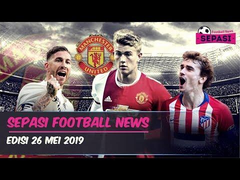 Ramos Tinggalkan Madrid 😱 MU Bajak Griezmann 🤑 de Ligt ke MU ⚽️ Berita Bola Terbaru Hari ini