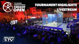 Squash: El Gouna International 2018 - Tournament Flashback