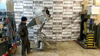 видео товара Подъемник передвижной-гидравлический опрокидывающий