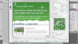 E-mail Marketing com Photoshop - Slice Tool