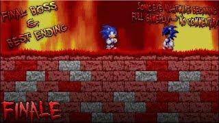 Sonic.exe: Nightmare Beginning Finale - Full Gameplay (Final Boss & Best Ending) - No Commentary