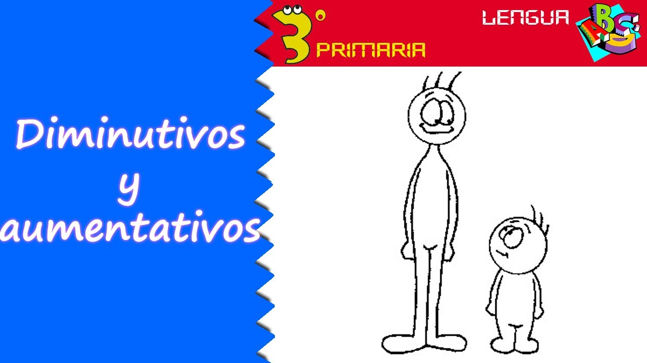 Lengua Castellana. 3º Primaria. Tema 7. Diminutivos y aumentativos