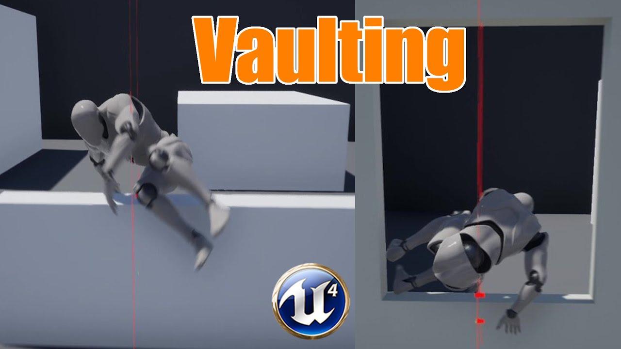 Vaulting & Climbing (Parkour) Part 1 - Unreal Engine 4 Tutorial