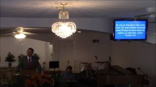 Instructions On How To Vote ,  Pastor Gary Ratliff