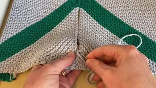 Little Lessons: Seaming blanket squares