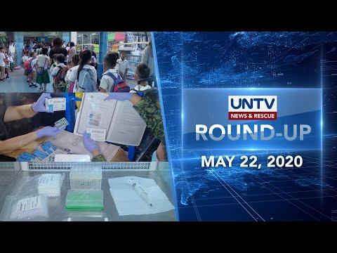 [UNTV]  UNTV NEWS ROUNDUP: Mga balitang dapat mong malaman (May 22, 2020)